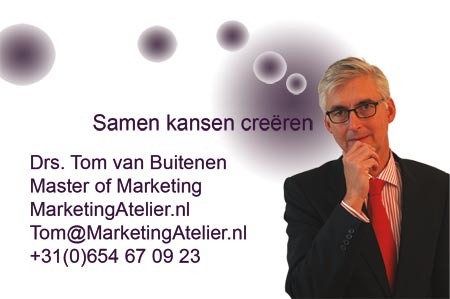 Tom van Buitenen van het MarketingAtelier